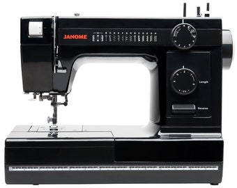 Janome Industrial-Grade Aluminum-Body HD1000 Black Edition Sewing Machine with 14 Stitches