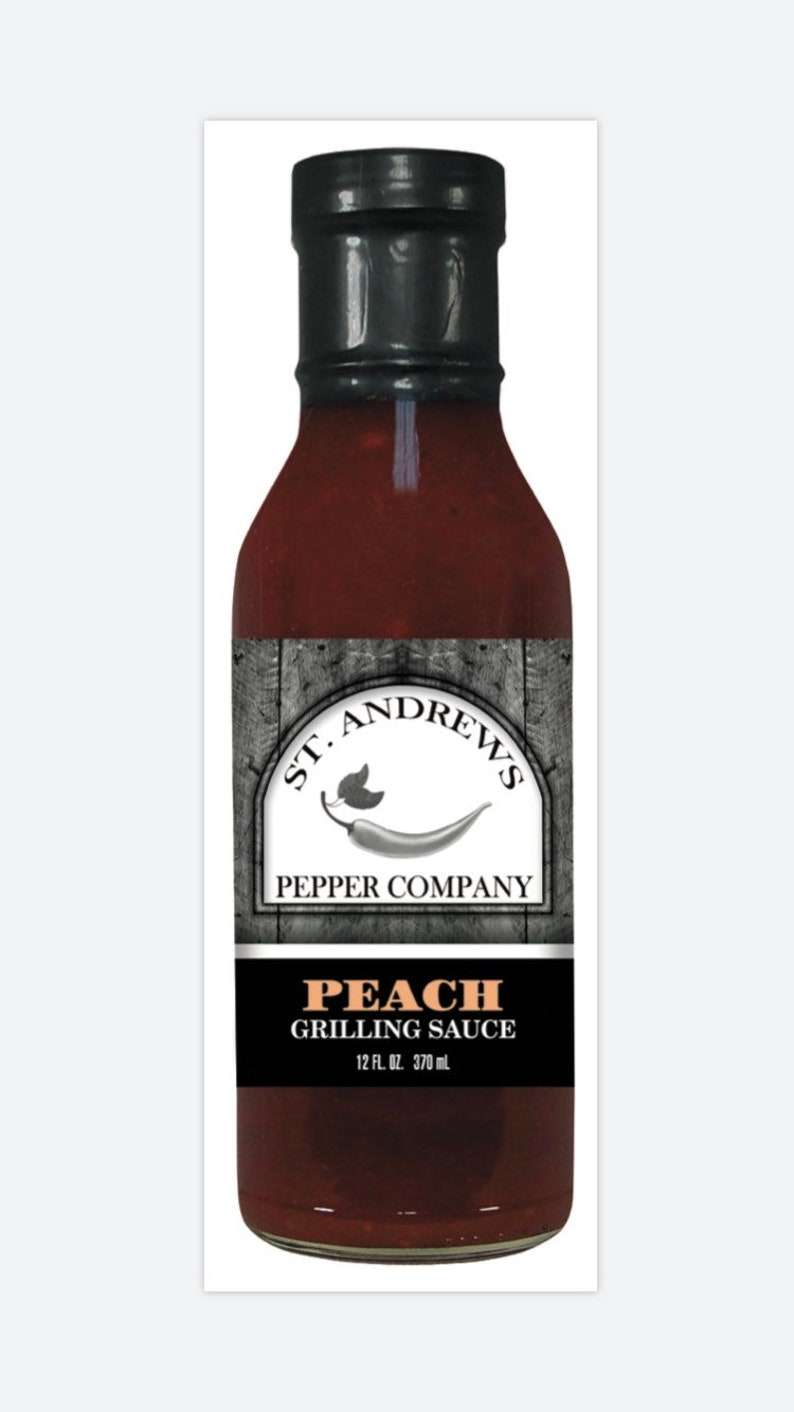 Peach Grilling Sauce image 0