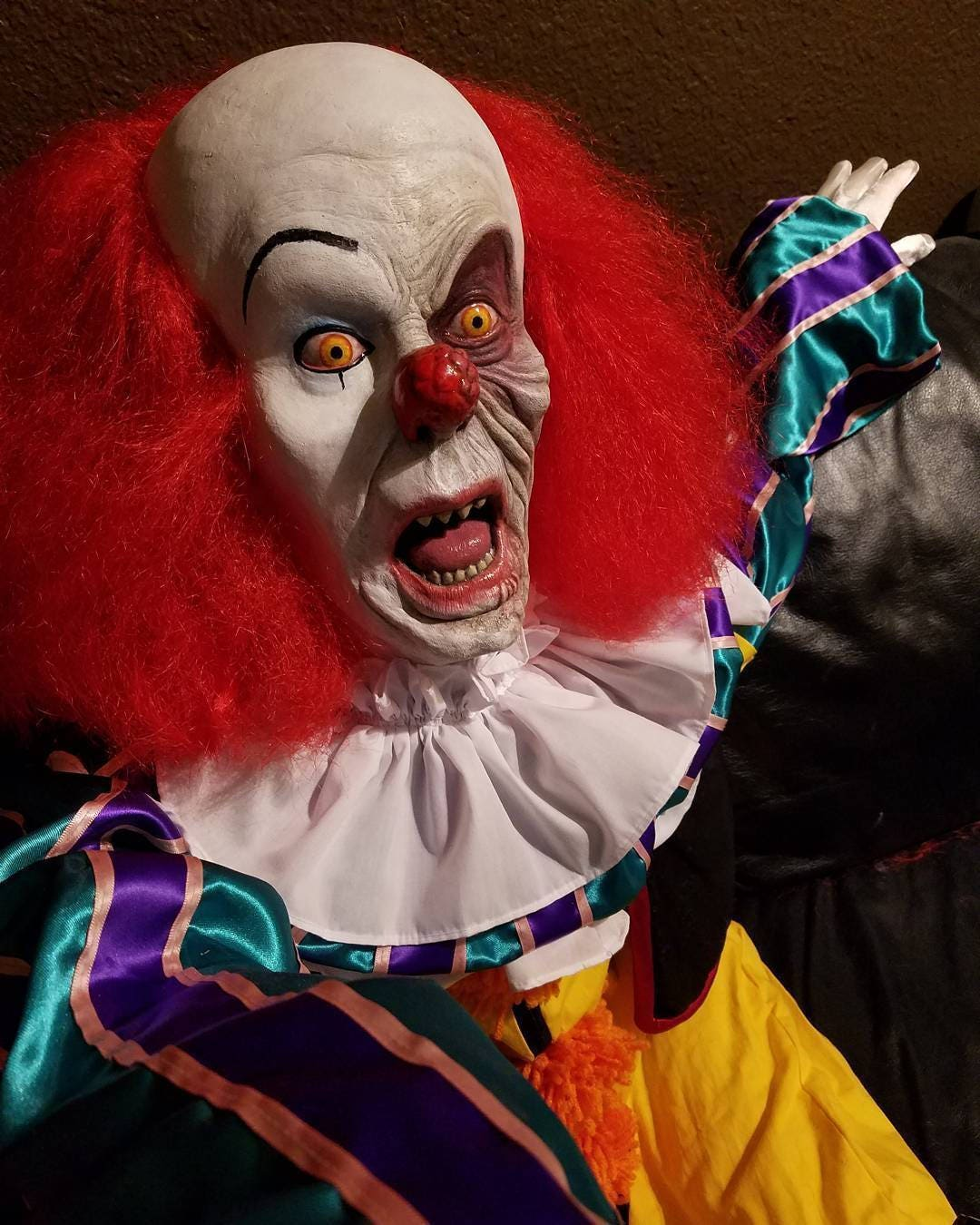 PENNYWISE The Dancing Clown IT Battery Acid   Etsy