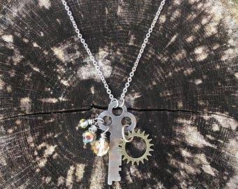 Vintage Skeleton Key necklace