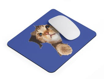 Kitty Bustin Out Mousepad