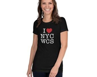 I Love NYCWCS Women's Slim Fit T-Shirt