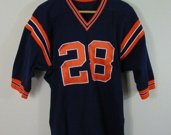 Vintage 80 s Powers 40 Chicago Bears Sewn Logo Athletic NFL Football Jersey   28 6c047bd80