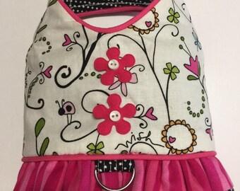 Sweet Pink Harness Dress