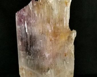 91 Gram Damage Free Natural Kunzite Crystal from Afghanistan
