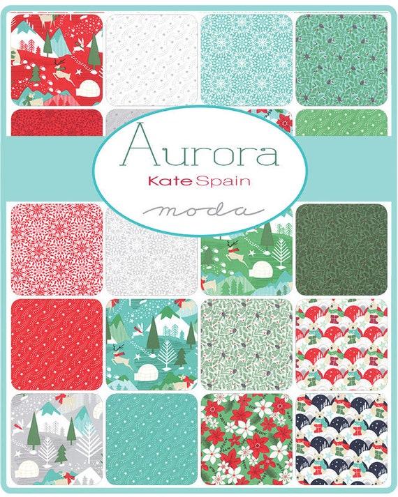 Kate Spain for Moda Fabrics SUMMER SALE Aurora Jelly Roll