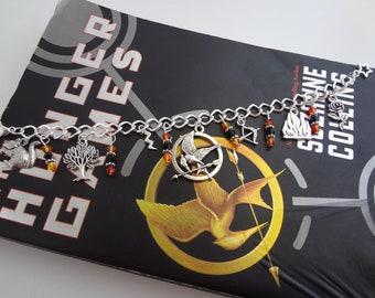 Hunger Games Inspired Metal Bracelet