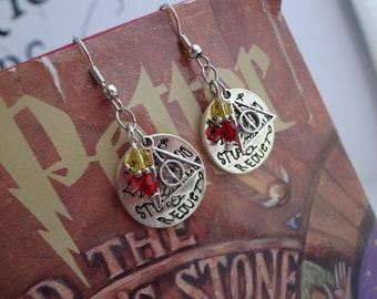 Harry Potter Inspired Charm Earrings