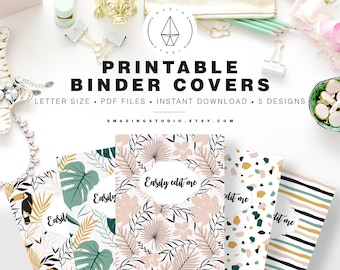 binder cover etsy