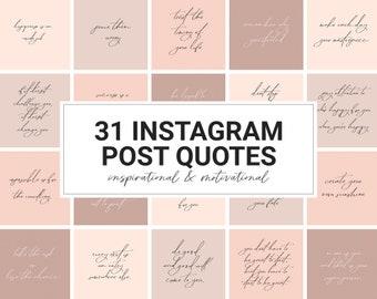 Instagram Zitate Etsy