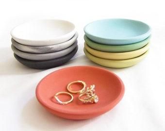 Ready to ship Ring holder Ceramic Jewelry Dish Ring Dish Earring Dish Crackle dish Earring holder