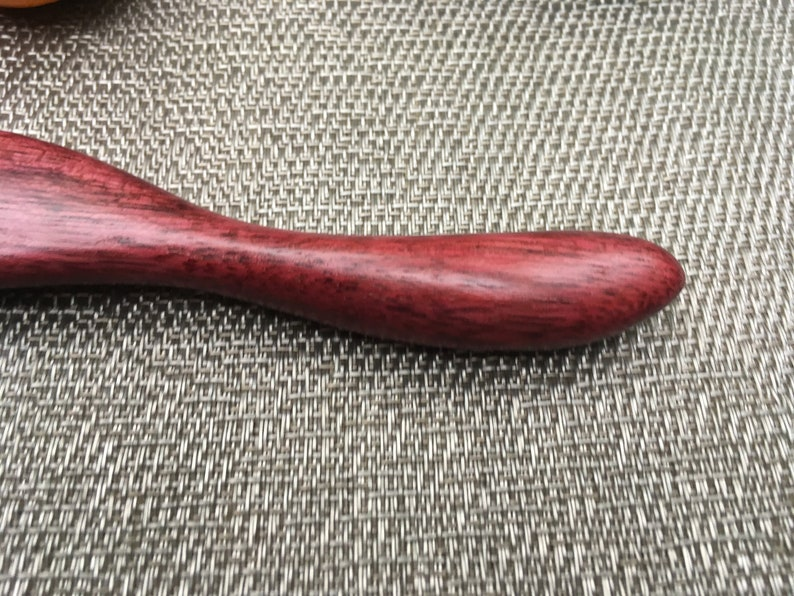 Handcrafted Purple Heart Wood Kitchen Cooking Utensil