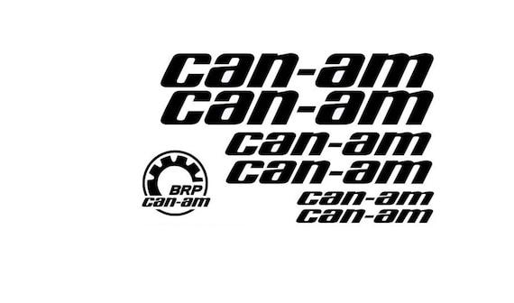 7 X Can Am Team Outlander Maverick Logo Brp Sticker Decal Emblem 114