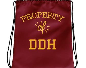 Sisterhood Inc. Drawstring bag