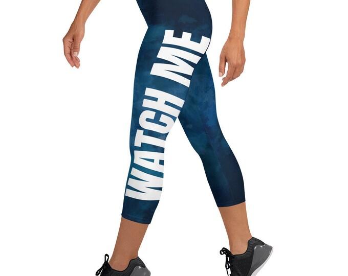 Watch Me Capri leggings