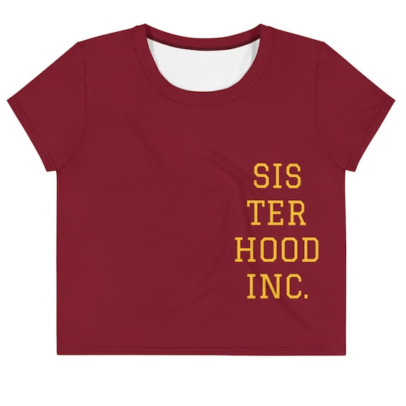 SISTERHOOD INC. Crop Tee