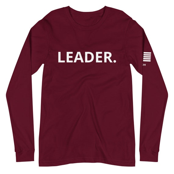 Leader Bold Long Sleeve Tee