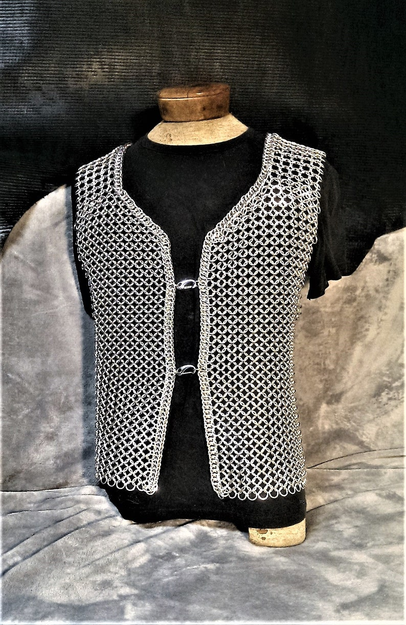 bcdded14bd1 Chainmaille Armor Shirt Half Persian 3in1 European 4in1 Open