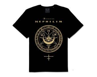 Fields of Nephilim Pagan Symbol Goth Band T Shirt
