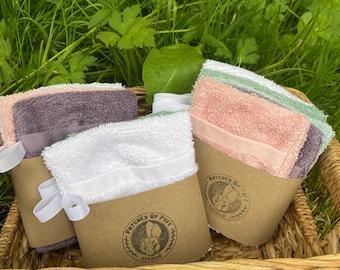 cotton shower soap saver holder bundle