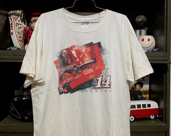 da3f0be03a85 Vintage NASCAR Tony Stewart  14 Old Spice Office Depot Racing T-Shirt
