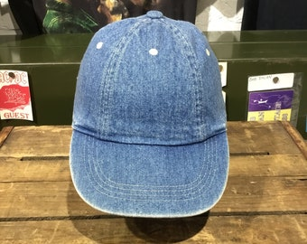 2bf958ef93b Vintage 1990s GAP Denim Hat