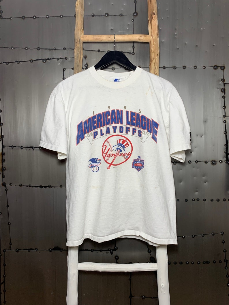 Vintage 1995 New York Yankees American League Playoffs image 0