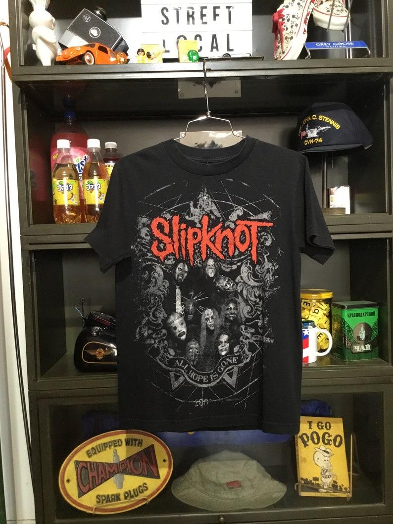 Vintage Slipknot All Hope is Gone T-Shirt image 0