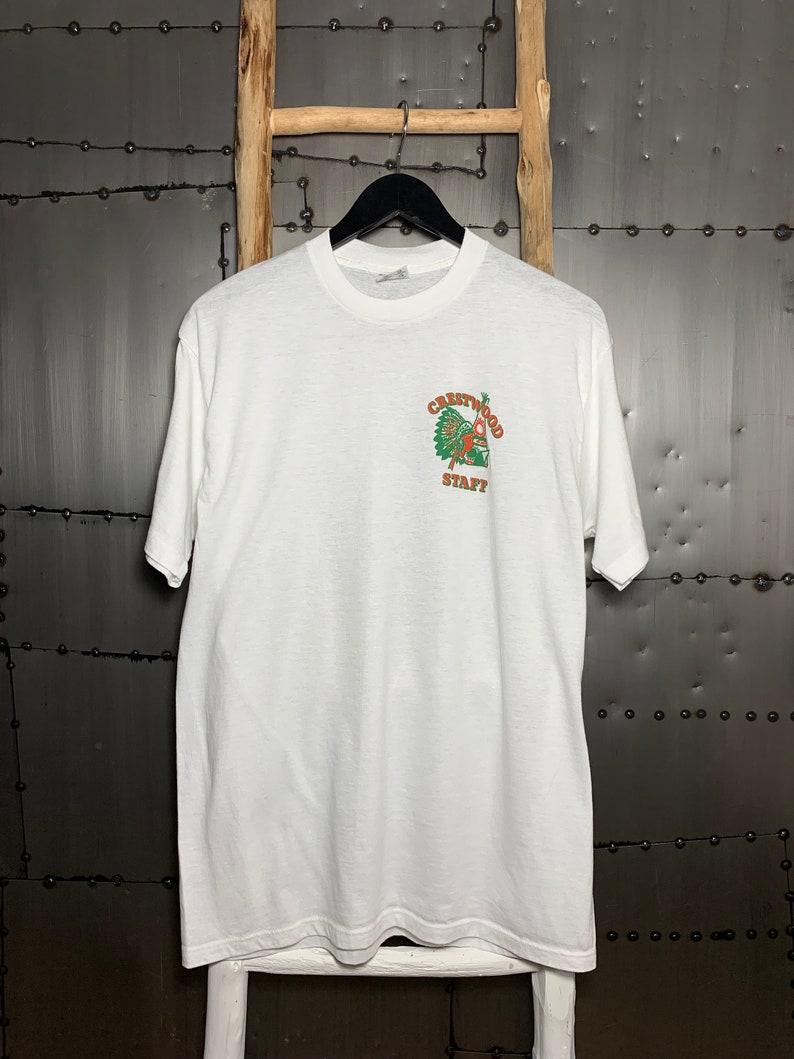 Vintage 1990s Crestwood Staff T-Shirt image 0