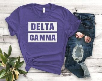 cb467183a Delta gamma shirt   Etsy