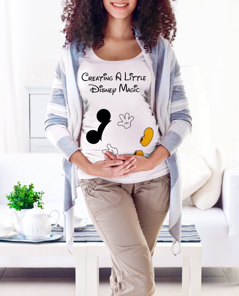 eb8df951369 Creating a Little Disney Magic Maternity Scoop Neck T Shirt