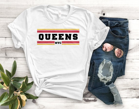 Queens Nyc Unisex T-Shirt Unisex Clothing Queens Nyc  b46295012bd