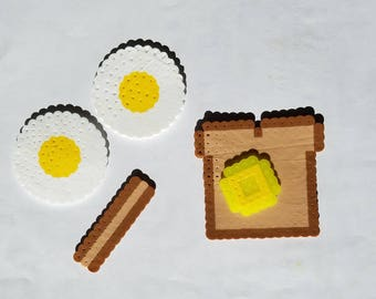 Breakfast, play set, bacon,eggs,toast,butter,gift