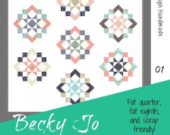 BeckyJo PDF quilt pattern
