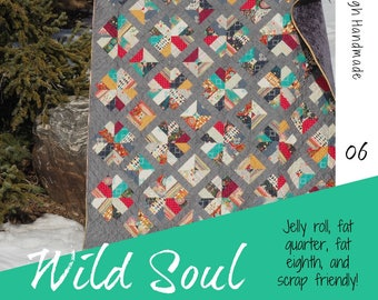 Wild Soul PDF quilt pattern