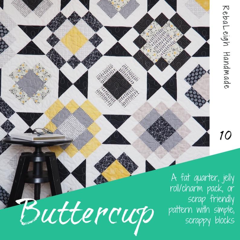 Buttercup PDF quilt pattern image 0