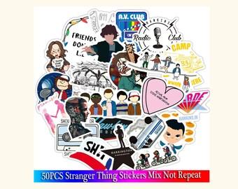 Stranger Things Sticker Etsy