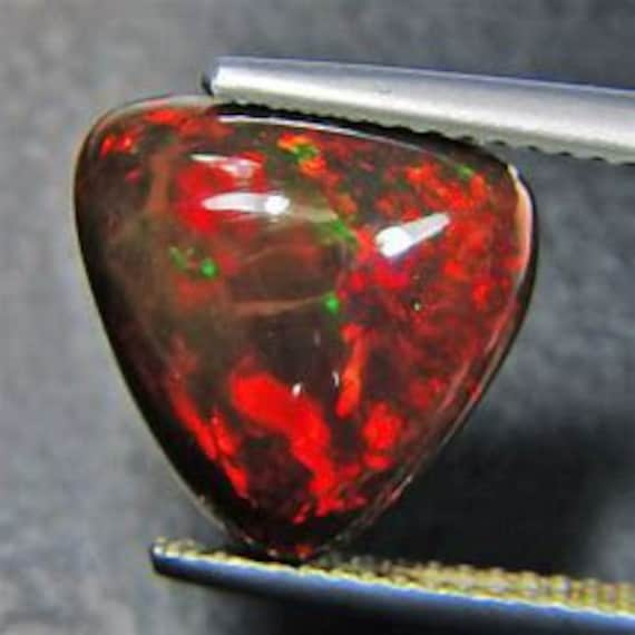 5 pieces black opal marquise cabochon natural gemstone