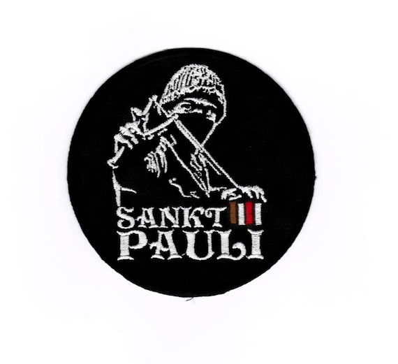 St Iron on Patch Embroidered Applique Motif Pauli