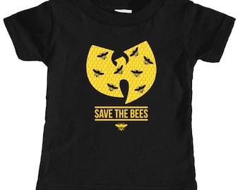 Wutang Save The Bees Infant T-shirt (Black) e924663391b