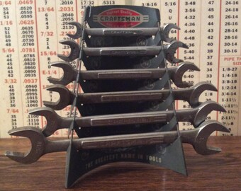 1950's Craftsman Wrench Counter Display