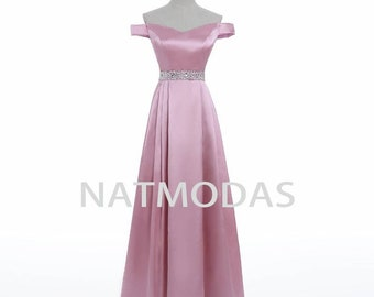 ca866be8bcc blush prom dress
