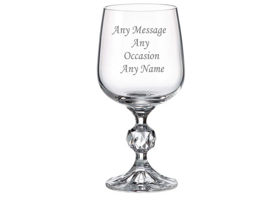 Any Name Personalised Gin Glass Birthday Gift 18th 21st 30th 40th 60th