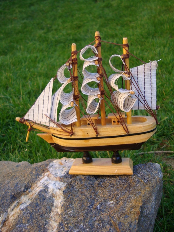 Decorative Ship Vintage Model Ship For Nautical Decorvintage Wooden Model Ship Cutty Sarkhandmade Decorative Shipvintage Home Decoration