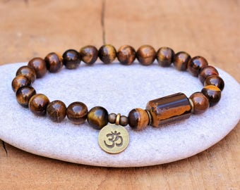 om bracelet men women ohm bracelet yoga bead bracelet om charm bracelet om jewelry meditation bracelet wrist mala bracelet spirit bracelet