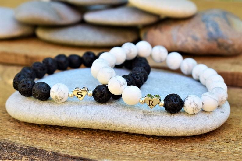 partner bracelet custom couple bracelets initials couple bracelet name bracelet personalized matching bracelets boyfriend bracelet distance