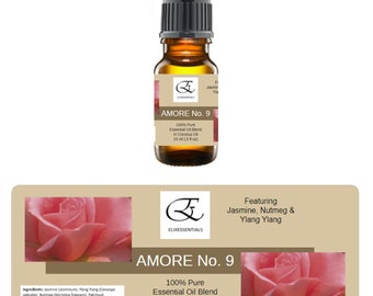 Essential Oil Blend AMORE No. 9