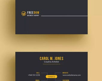 Luxury business card etsy luxury business card designed printed quantity 500 includes shipping reheart Choice Image