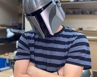 The helmet Mandalorian + scapulars  STL files for 3D printing Digital files