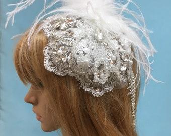 aa643d6879a Lace bridal cap
